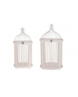 FAROL MAD BLANCO SET2 30X30X60