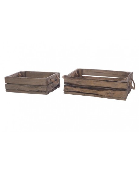 MACETERO ROBLE SET 2 C/PL 55x39x16.5