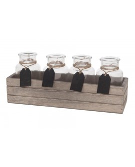 CAJA MAD C/4 BOTELLAS 31X9X13
