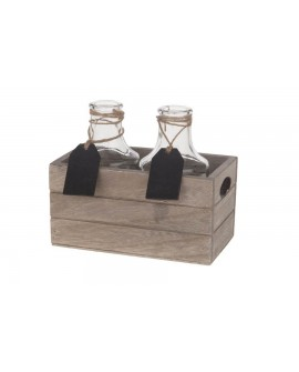 CAJA MAD C/2 BOTELLAS 16X9X14