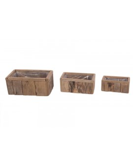 MACETERO MAD ANTIGUA SET3 36x21x16cm