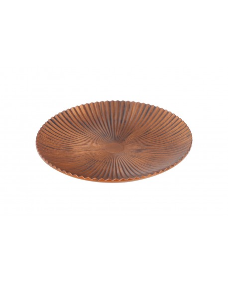 BANDEJA COBRE  D40x4.5cm