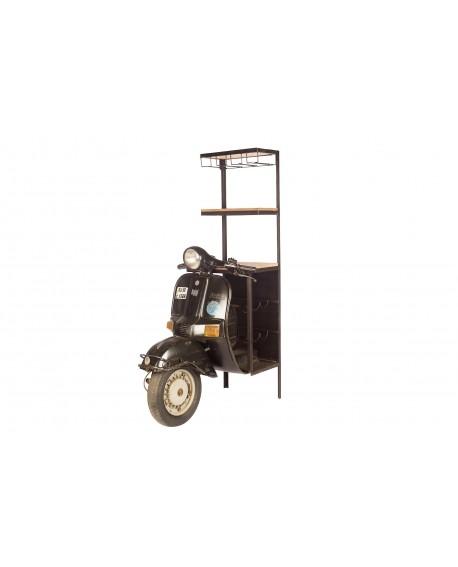 ESTANTERIA VINTAGE MOTO 47x87x162cm