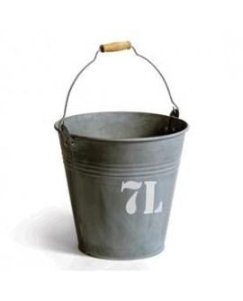 CUBO ZINC 7L D25X22