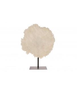 Escultura coral poliresina 59x20x77cm