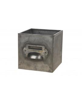 Cajon zinc 10x10x10cm