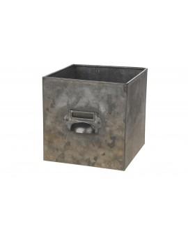 Cajon zinc 15x15x15cm