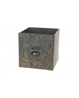 Cajon zinc 18x18x18cm