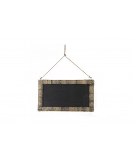 Pizarra madera 62x35x2cm