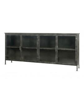 Mueble metal 167.5x29.5x75cm