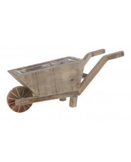 Carro madera 60x18x23cm w/pl