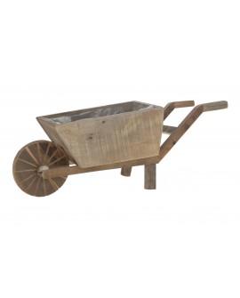 Carro madera 48x14x18cm w/pl