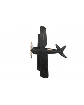 Mural avioneta metal 117.5x87x9cm