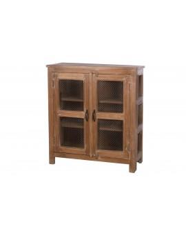 Vitrina madera vintage 90x39x100cm