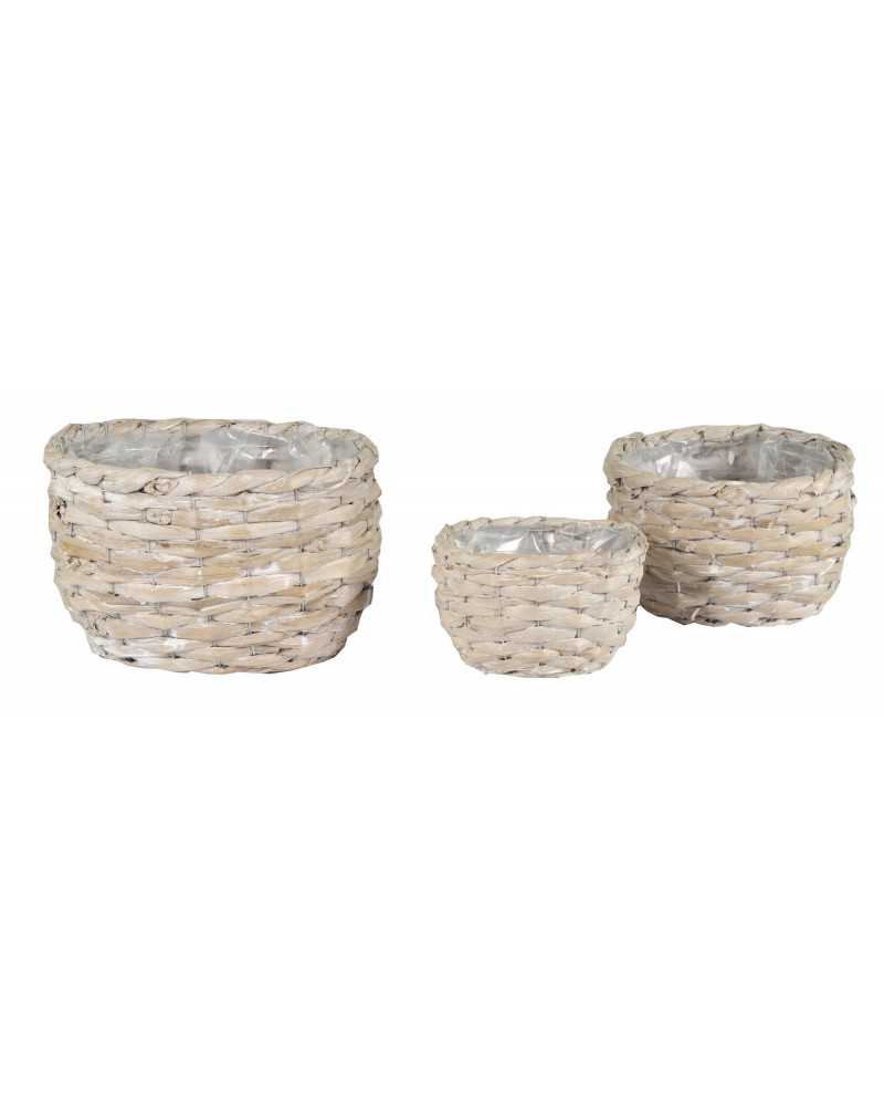 CESTA OVL SEA GRASS SET3 21/35X15/28X13/