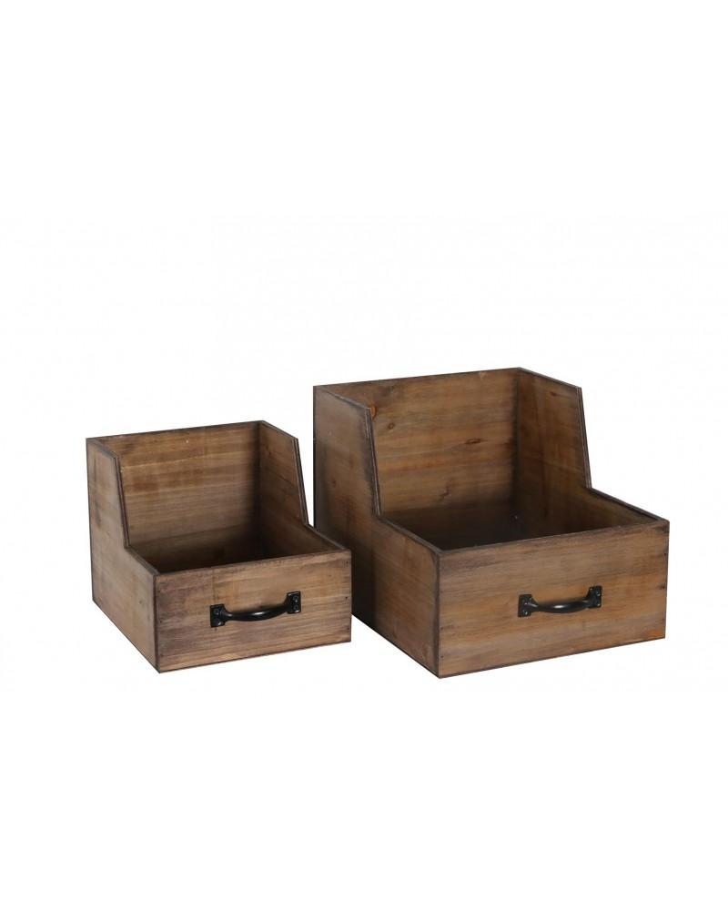 Cajón madera 32x27.5x13 / 24cm