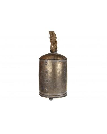 campana metal 14x14x23cmoro viejo