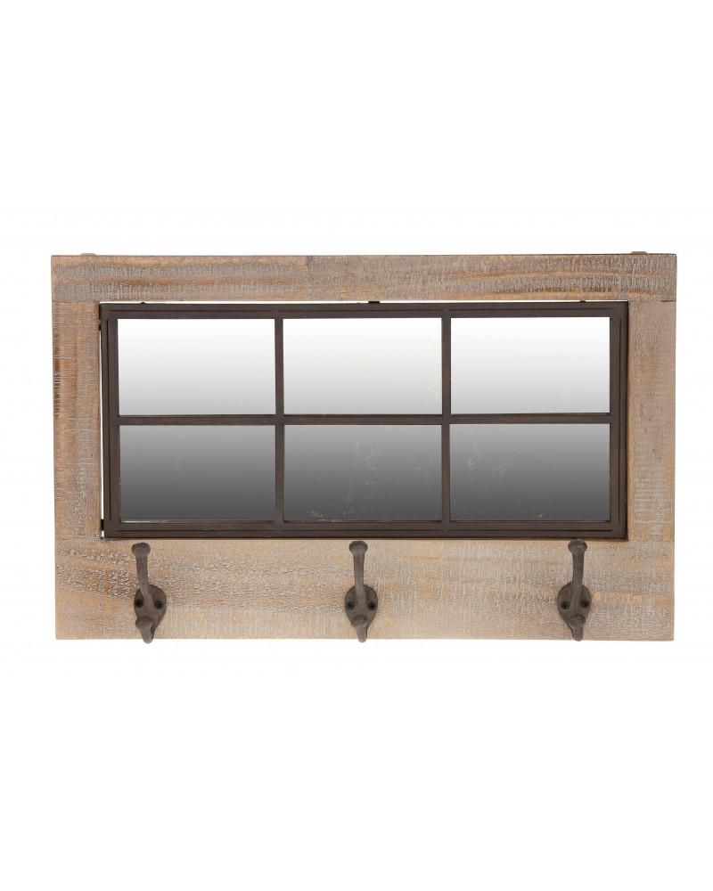 Espejo madera 61x2x38cm