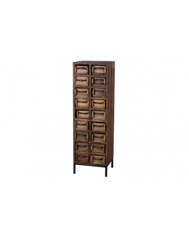 Mueble molde vintage 18 ladrillos 37.5x32x119cm